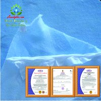WATERPROOF BREATHABLE FABRIC LAMINATED