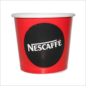 150 ML Red And Black Printed Disposable Cup