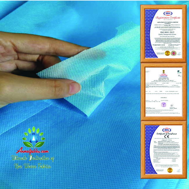 NONWOVEN LAMINATED FABRIC RICE BAGS