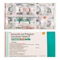 AUGMENTIN 625 TABLET (AMOXYCILLIN AND POTASSIUM CLAVUNATE)