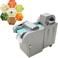 YQC-20C-2 Vegetable Cutting Machine With Big Capacity Onion Potato Carrot Cutting Shredding Machine Commercial Vegetable Fruit Cutter