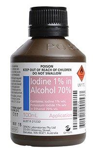 Alcoholic Iodine Solution