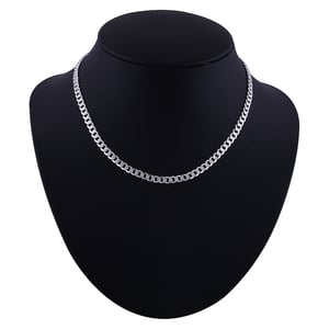 Plain 925 Sterling Solid Silver Chain