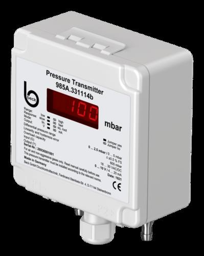 Differential pressure transmitter, 985