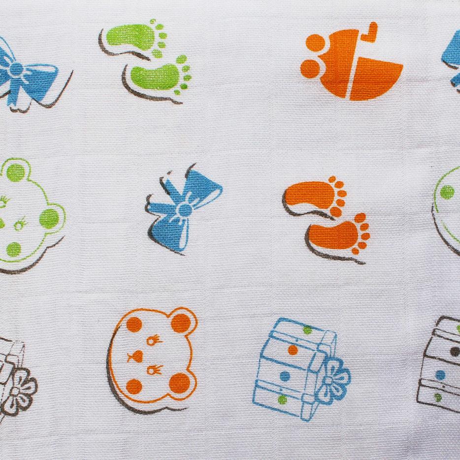 Pure Organic Cotton Soft Gauze Fabric