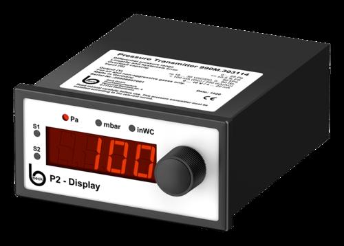 Digital differential pressure gauge, 990
