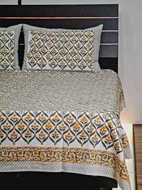 Meera Handicrafts Bedsheet