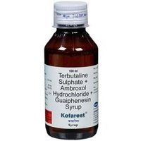 Ambroxol Hydrochloride + Guaiphenesin + Terbutaline Sulphate Syrup