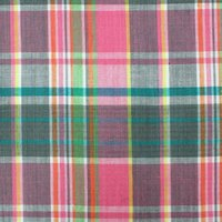 Cotton Made in Africa Certified Yarn Dyed Checked fabric