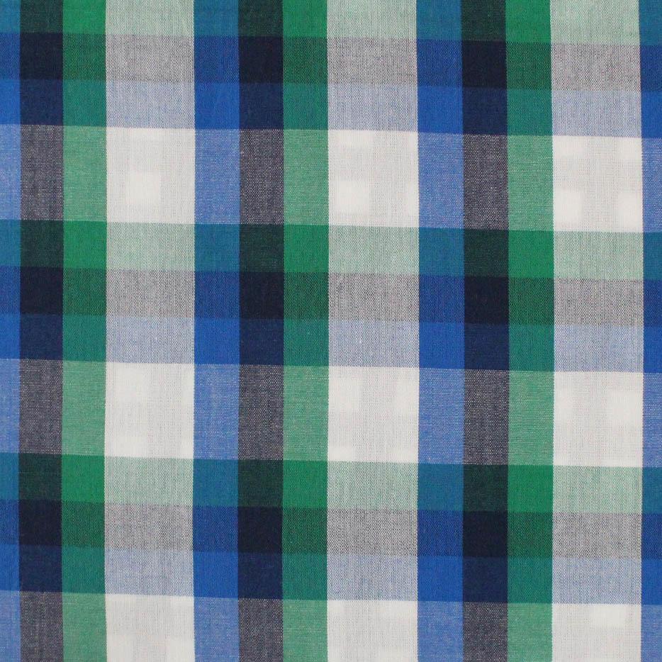 Custom Organic Cotton Fabric Yarn Dyed Checked fabric