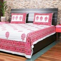 Mughal Buta Printed Bedsheet