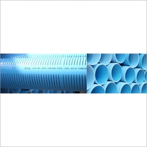 UPVC Well Casing Ribbed Strainer Pipes
