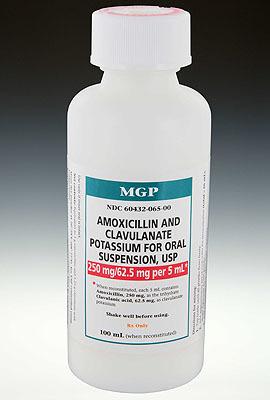 Amoxicillin + Potassium Clavulanate for Oral Suspension