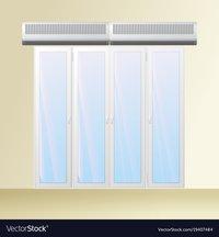 Clean Room Door Air Curtain