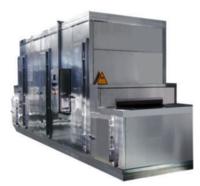 SSD-1000 Plate Freezer For Shrimp Food Liquid Tunnel Quick Freezer Machine IQF freezing tunnel