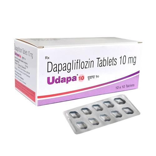 UDPA 10 MG TABLET (DAPAGLIFLOZIN)