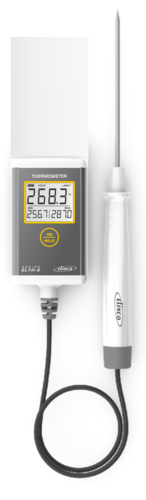 Temperature Thermometer with Min/Max ELTA -2 with handle Probe