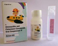 Amoxicillin and Potassium Clavulanate for Oral Suspension