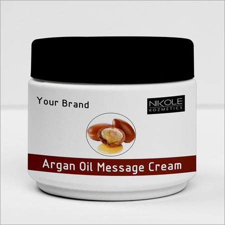 Argan Oil Massage Cream Third Party Manufacturing