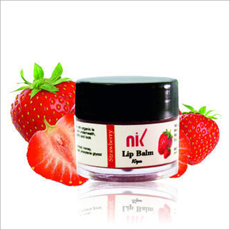 Strawberry Lip Balm Third Party Manufacturing