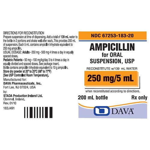 Ampicillin for Oral Suspension
