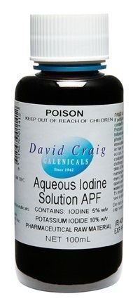 Aqueous Iodine and Potassium Iodide Solution