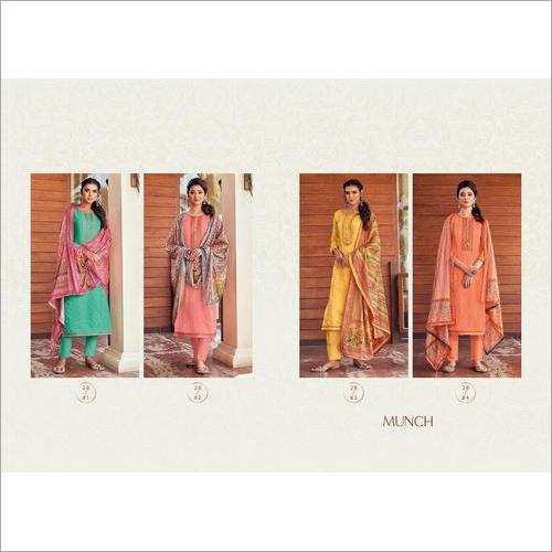 Rangoon Munch Ethnic Wear Printed Ready Made Dress