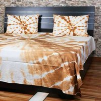 Tie And Dyed Bedsheets