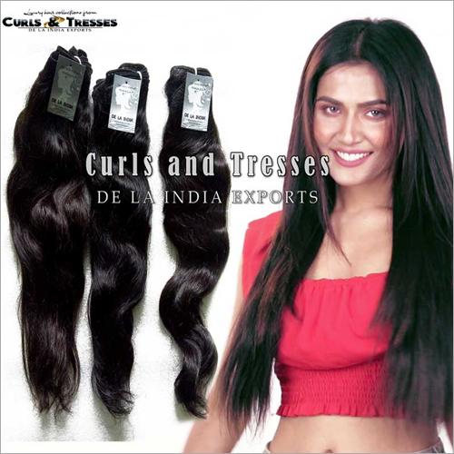 Raw Natural Temple Hair
