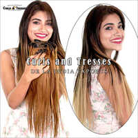 Ladies Clip On Hair Extension
