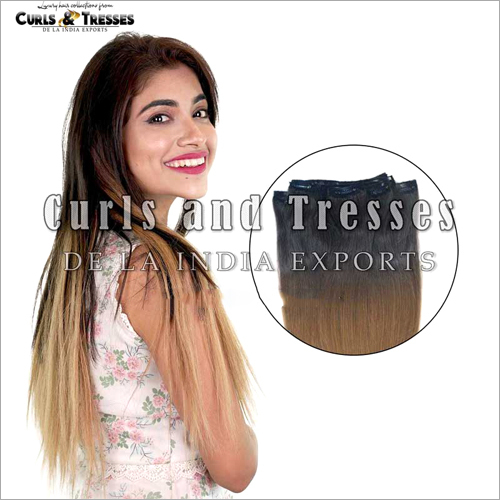 Ombre Clip On Hair Extensions