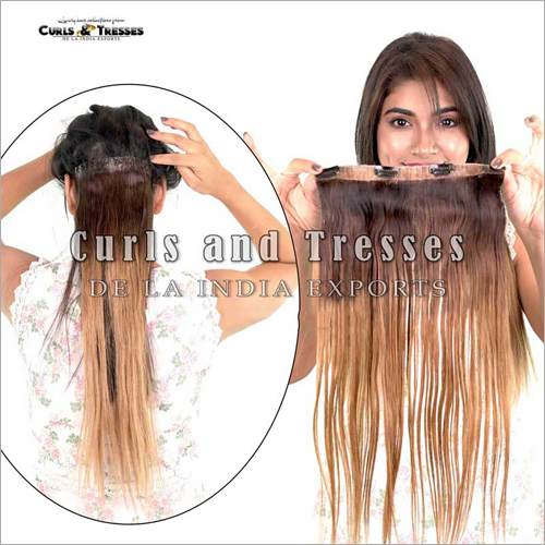 Ombre Clip On Volumizers