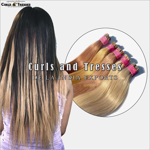 Blonde Micro Ring Hair Extensions