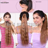 Brown Ponytail Hair Extensions