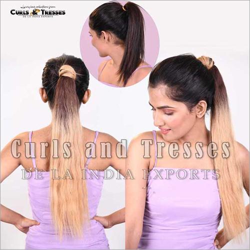 Blonde Ponytail Hair Extensions