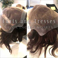 Full Lace Wigs With PU Border