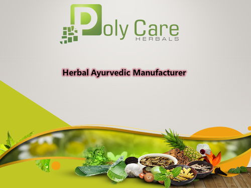 Ayurvedic third party capsule manufacturing