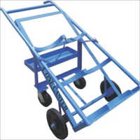 CYLINDER TROLLEY 4 WHEEL WITH TOOLS TRAY