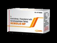 Aceclofenac Paracetamol with Serratiopeptidase Tablet