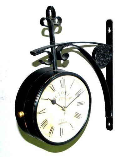 Victoria Station Brass Clock