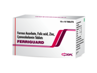 Ferrous Ascorbate folic Acid Zinc Cyanocobalamin Tablet