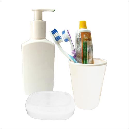 Plastic Bathroom Set