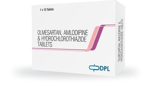 Olmesartan Amlodipine Hydrochlorothiazide Tablet