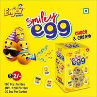 Smiley Egg Choco And Cream