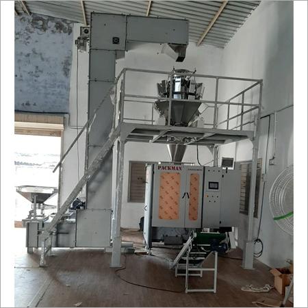 2.2 kw Three Phase Fully Automatic Potato chips Packing Machine 220 v