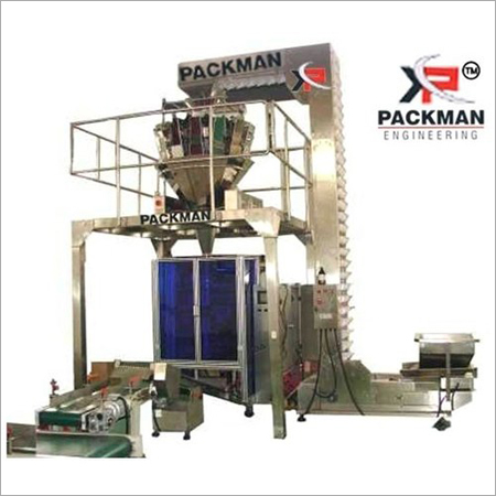 2 Kw Three Phase Banana Chips Packaging Machine, 220 V, Automation Grade Automatic