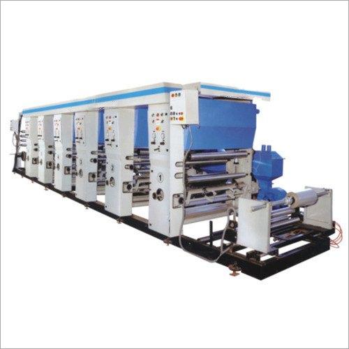 Industrial Rotogravure Printing Machine