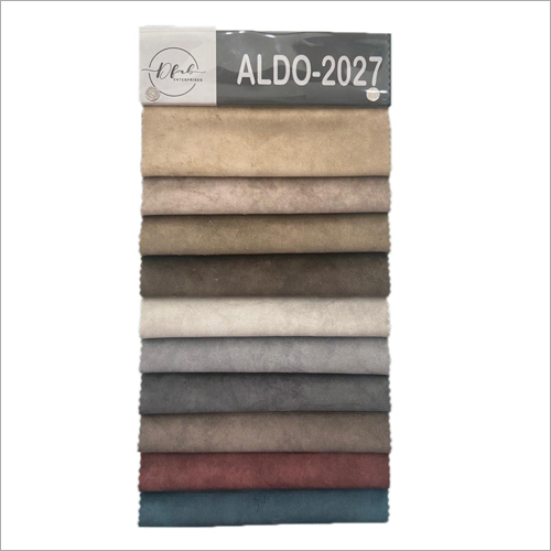 ALDO-2027 Multi Color Suede Sofa Fabric