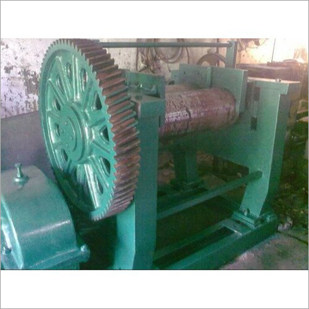 Old Two Roll Rubber Mixing Mill