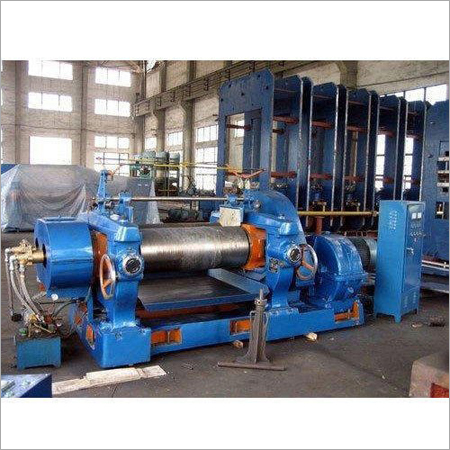 Old 30 Ton Rubber Processing Machine